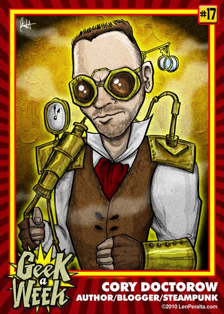 Geek A Week Challenge #17: Cory Doctorow