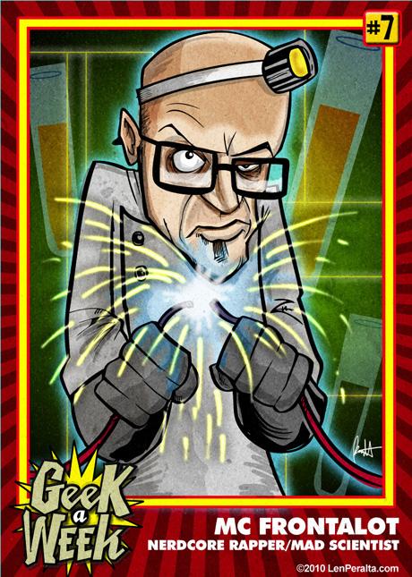 Geek A Week Challenge #7: MC Frontalot front