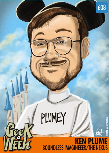 Geek A Week Challenge #8: Ken Plume front