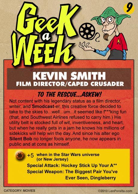 Geek A Week Challenge #9: Kevin Smith back
