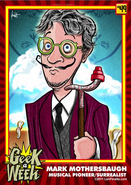 Geek A Week Challenge #49: Mark Mothersbaugh