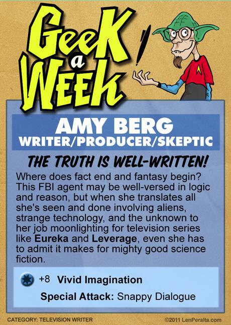 Geek A Week 2.0: Amy Berg back