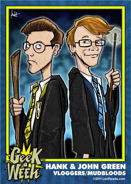 Geek A Week 2.0: Hank and John Green front
