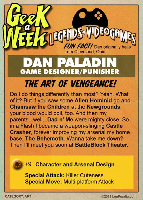 Legends of Videogames: Dan Paladin back