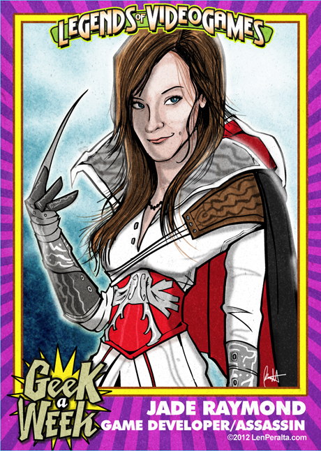 Legends of Videogames: Jade Raymond front