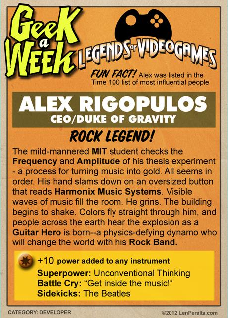 Legends of Videogames: Alex Rigopulos back