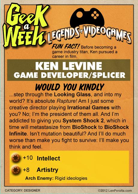 Legends Of VideoGames: Ken Levine back