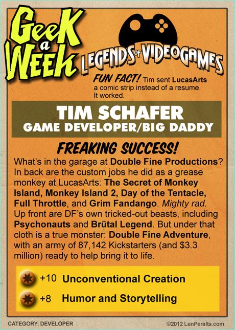 Legends of VideoGames: Tim Schafer back