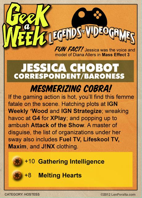 Legends Of Videogames: Jessica Chobot back