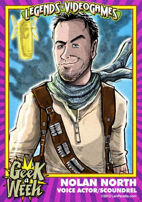 Legends of Videogames: Nolan North front