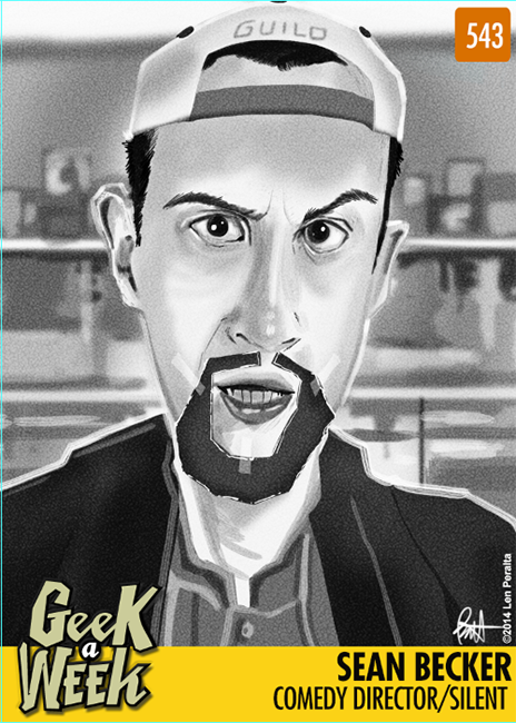 Geek A Week: Year Five Two: Sean Becker front