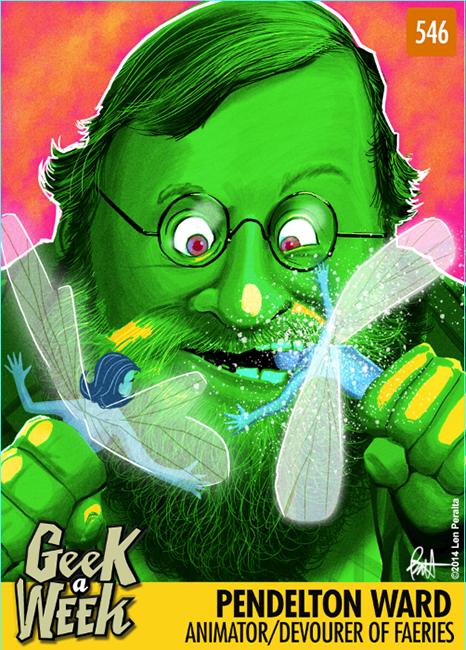 Geek A Week: Year Five Two: Pendelton Ward front